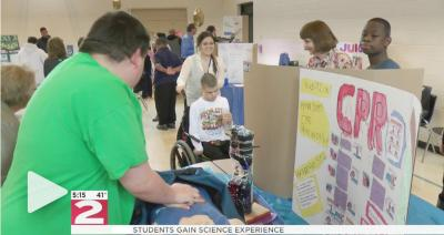 WKTV science fair